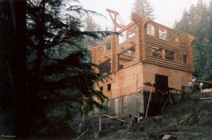 Residential Log House