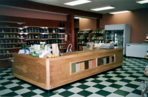 Retail Counter and Display